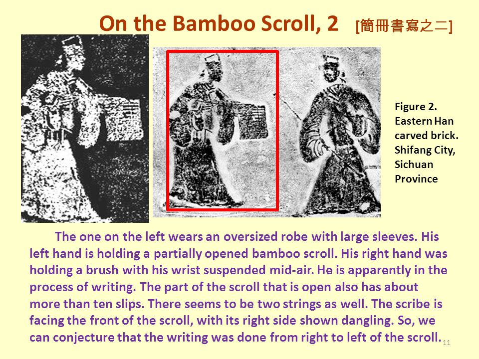 On the Bamboo Scroll, 2 [簡冊書寫之二]